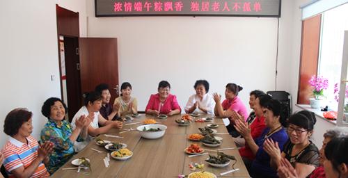 延吉市长林社区:浓情端午粽飘香 独居老人不孤单