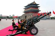 9.3阅兵采用新式庆典礼炮 炮手身高超1.75米