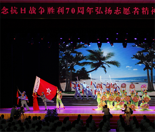中国人民解放军陆军军官学院:举办军民共建文艺演出