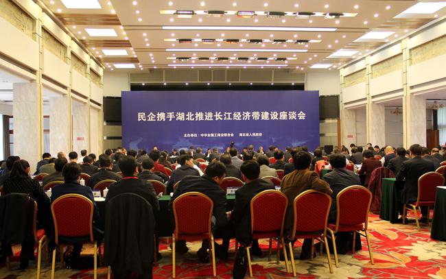民企携手湖北推进长江经济带建设座谈会在汉召开