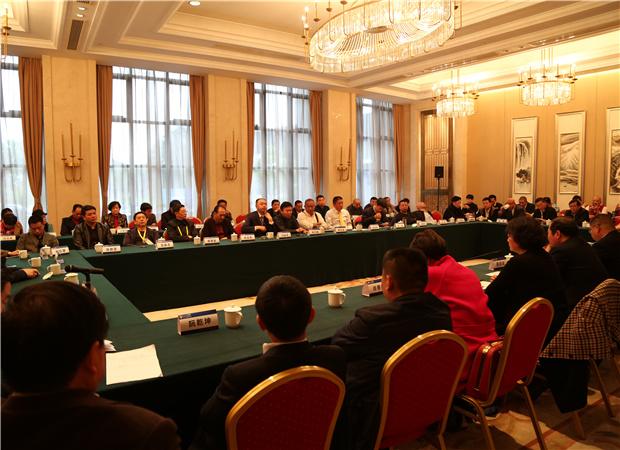 湖北省领导会见楚商联合会理事