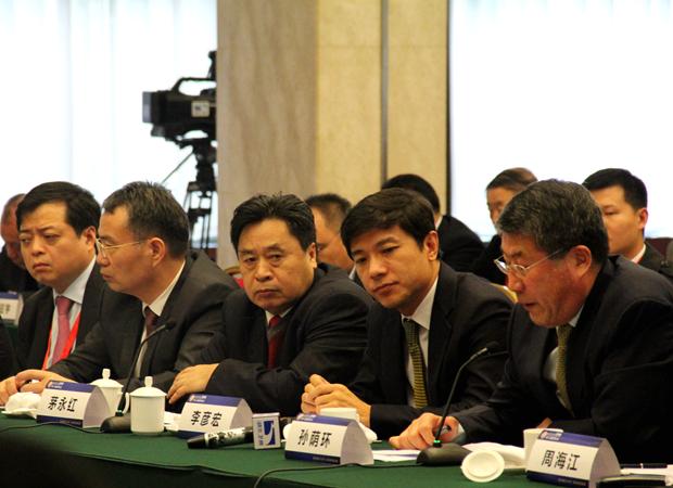 民企携手湖北推进长江经济带建设座谈会