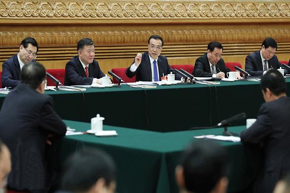李克强参加陕西代表团审议