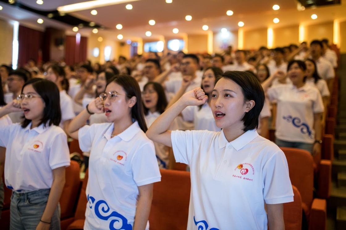 4380名大学生参与志愿服务西部计划